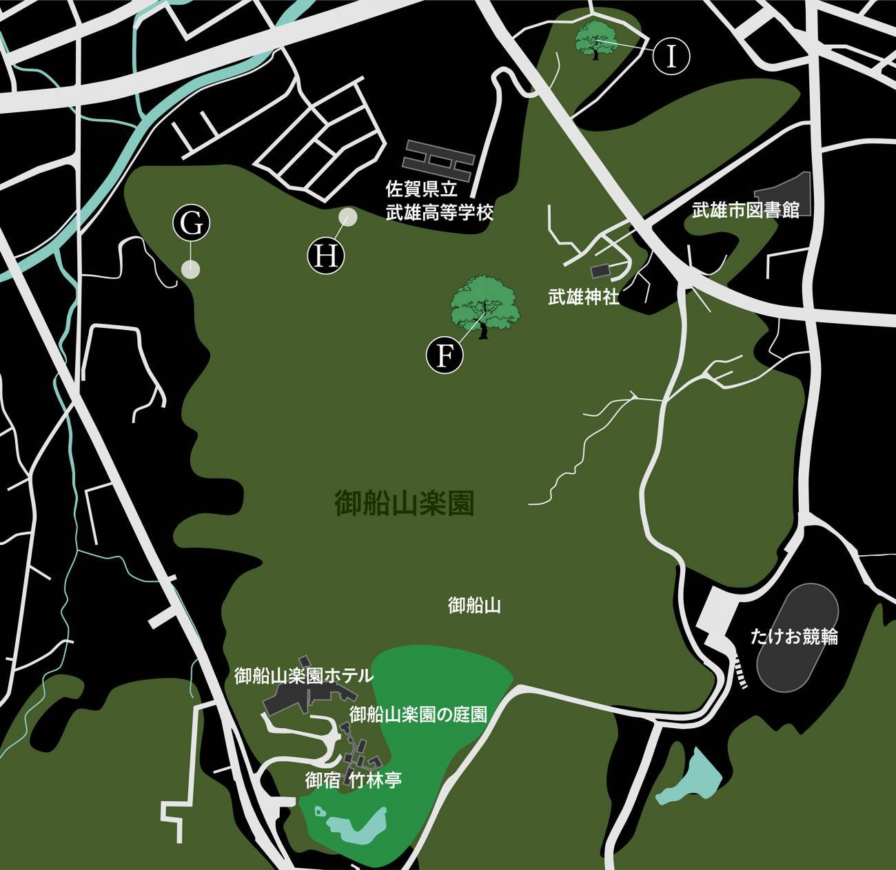 mifuneyama map