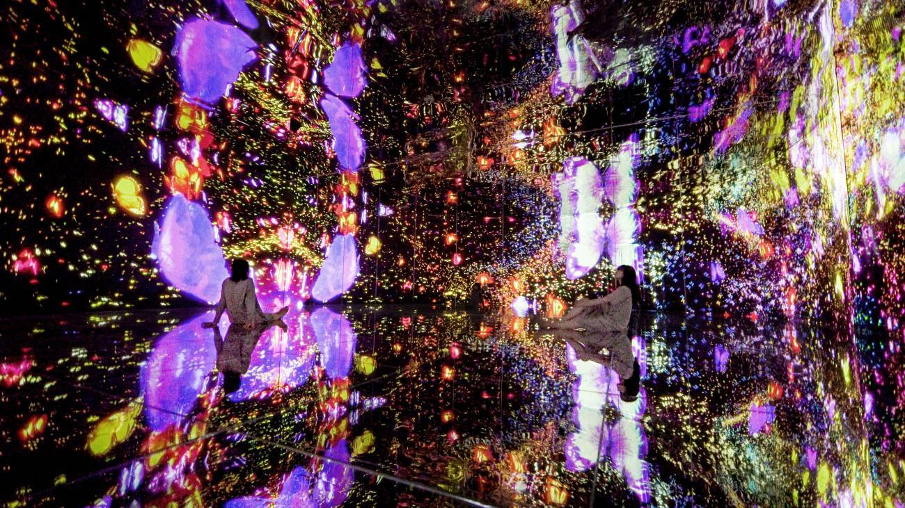 境界のない群蝶、超越する空間 - 連続する小宇宙