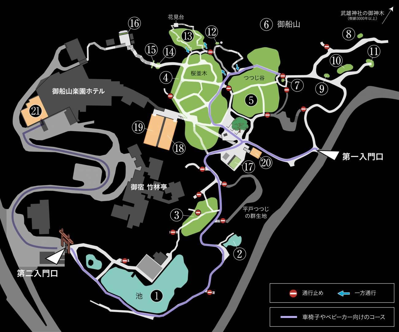 mifuneyama map