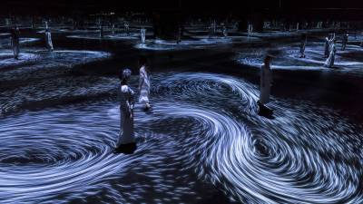 Image result for Japanese collective teamLab brought the ocean indoor